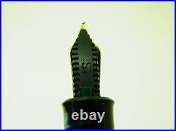 1950´s GEHA Pistonfiller Fountain Pen Rare Flexy ST Steno / Shorthand nib