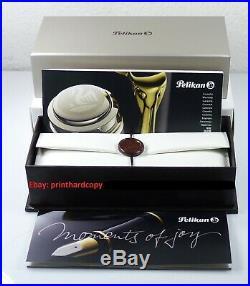 2013 Special Edition Pelikan M800 Tortoise Brown Fountain pen 18k Gold Nib Rare