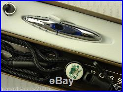 CROSS Made in the USA Rare ION Gel Pen METAL BLUE No Longer made NEW
