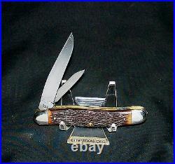 Camco 751 Knife USA Super Jack 3-1/2 1950's NOS Rare Camillus Peanut Trapper