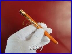 Cartier Fountain Pen With 14K Gold Nib Very Rare
