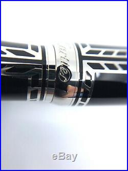 Cartier Railroad Lacquer Limited Edition 0415/1847 Fountain Pen Rare Authentic