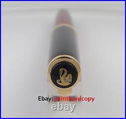 Discontinue Pelikan M800 Red Fountain Pen (matching discon logo and nib)18k RARE