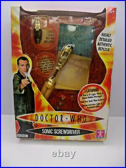 Doctor Who Sonic Screwdriver with Ultraviolet Light And Pen Rare