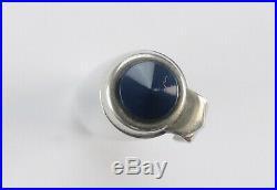 Early Blue Parker 51 SPECIAL Fountain Pen Medium Nib Rare Black Jewel 38S