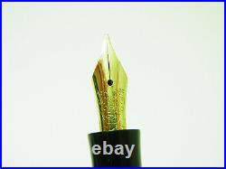 Excellent Rare 1950´s SOENNECKEN 309 Fountain Pen Flexible 14ct M Nib