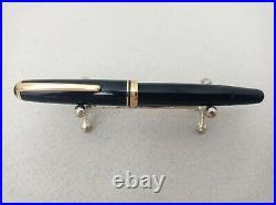 MONTBLANC 254 Fountain Pen 14k F Flex Nib Vintage Excellent Rare