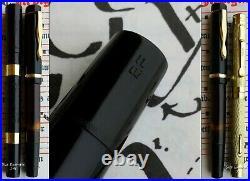 Montblanc 134 Celluloid Fountain Pen 1938-40's. 14C 225 EF Nib. Very Rare