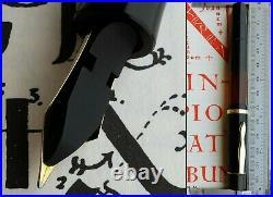 Montblanc 136 Celluloid Fountain Pen 1939. 14C M FULL Flex Nib. Rare. Serviced