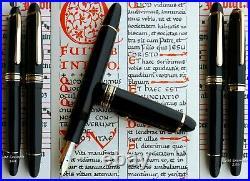 Montblanc 146 G Celluloid Fountain Pen 1949 to 1952. 14C O FULL Flex Nib. Rare