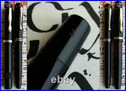 Montblanc 20 Celluloid Fountain Pen 1930. 14C Full Flex F Nib. RARE. Mint