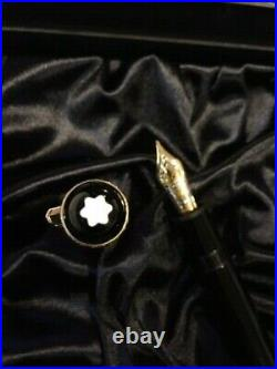 Montblanc Meisterstück 149 75th SPECIAL Anniversary Gold/Diamond F. Pen NEW RARE