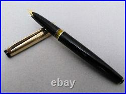 Montblanc Meisterstuck 74 Fountain Pen 18k Nib Excellent Rare 1960s