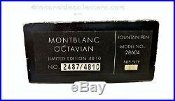 Montblanc Octavian Patron Of Arts Le 4810 Fountain Pen 1993 F