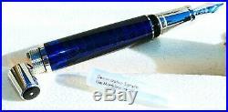 Montblanc Paseo Doble, Blue, Rare Fountain Pen