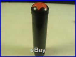 Montblanc Simplo Vintage Rare Rouge et Noir No. 4 Simplo N ° 4 14K flex nib