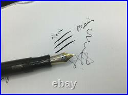 Montblanc Vintage 1950s No. 146 Celluloid Fountain Pen 14k Flex Nib RARE