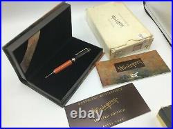 Montblanc Writers Edition Ernest Hemingway RARE New Old Stock Ballpoint Pen