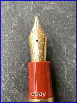Montegrappa Extra 1930 Custom Celluloid Fountain Pen Rare