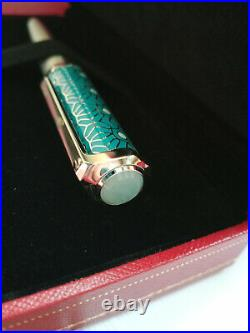 NO RESERVE Cartier Santos Dumont Moucharaby Middle East Limited Brand New RARE
