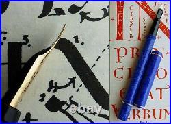 Onoto 7273 Celluloid Fountain Pen 1930's 14K F/M Flex Nib. N. O. S. MINT RARE