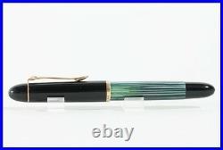 PELIKAN fountain pen w rare KEF GOLD NIB torpedo shaped 140 PISTON FILLER