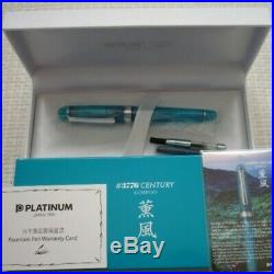 PLATINUM KUMPOO Kunpu fountain pen UEF Nib # 3776 CENTURY Rare 2500 Limited