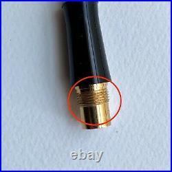 PLATINUM Makie #3776 Century Fountain Pen M Medium Nib14K Crane Old Model Rare