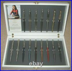 Parker Jotter 16 Ballpoint Pens Very Rare Sales Presentation Case
