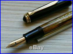 Pelikan 400 NN Brown Accountants Fountain Pen 14 k gold DEF nib Very Rare 1950