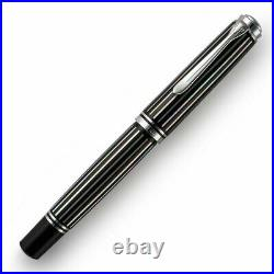 Pelikan Limited Special Edition rare fountain pen M805 Raden nib M 18K NEW