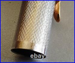Pelikan M750 Jubilee Silver Fountain Pen 1st. Series 1988 Beautiful And Rare