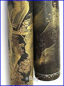 Platinum vintage makie pen Rosui Ogawa platinum nib 1930' very rare from Japan