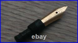 RARE 1960's OBB 14K-585 Gold Nib original section For Pelikan 400, 400N, 400NN