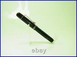 RARE Black 1935 to 37 PELIKAN 100 Fountain Pen FLEXIBLE 14ct EF Nib SERVICED