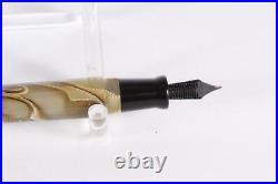 RARE Delta Limited Edition Acueducto Stilografica Fountain Pen 18K Nib Swirl