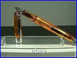 RARE DiscontinuedTWSBI DIAMOND 540 Amber Fountain Pen SEALED3 nib size