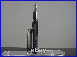 RARE Discontinued TWSBI Vac 700 Demo BLACK Fountain Pen EF/ Fine/M nibSEALED