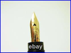 RARE German MATADOR 120 BCHR Safety Fountain Pen Flexy 14ct F Nib SERVICED