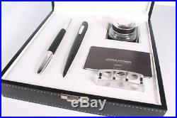 RARE Jorg Hysek Meta Design Dipping Fountain Pen Sheath Inkpot Stand Dip Set