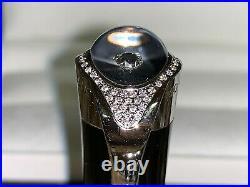 RARE MONTBLANC ETOILE PRECIEUSE 63 DIAMONDS ROLLERBALL PEN $7.5K Brand New