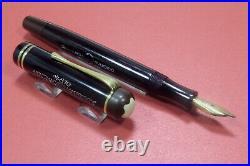 RARE MONTBLANC MASTERPIECE n° 20 BLACK-PKF-1940/46 c. Gold nib BB