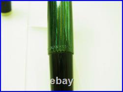 RARE NR MINT First Series 1950 PELIKAN 400 D. R. P. Fountain Pen FLEXY 14ct M Nib