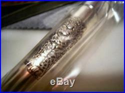 RARE PILOT NAMIKI Jaguar pen, Limited Edition sterling silver