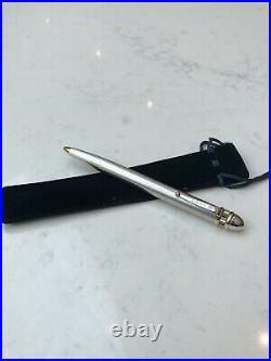 ROLEX Watch Offical Ballpoint Pen Platinum/gold Plated Rare 1 Of 400 Collectible