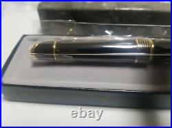 ROLEX Watch Official Novelty Ballpoint Pen Black × Gold Color from JP Very Rare