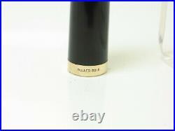 Rare 1950´s Italian PEN-CO rolled gold fountain pen flexy 14ct M nib