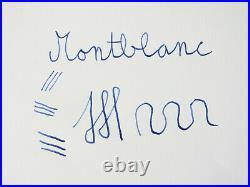 Rare 1952 to 1954 MONTBLANC 444 Pistonfiller Fountain Pen 14ct KM Nib