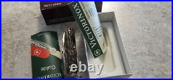 Rare 1993 Victorinox Swiss Army Knife SwissChamp Genuine Staghorn red stag NOS