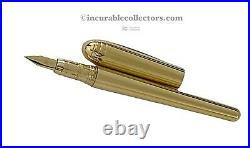 Rare Bulgari by Montegrappa R Fountain Pen 750 Gold M